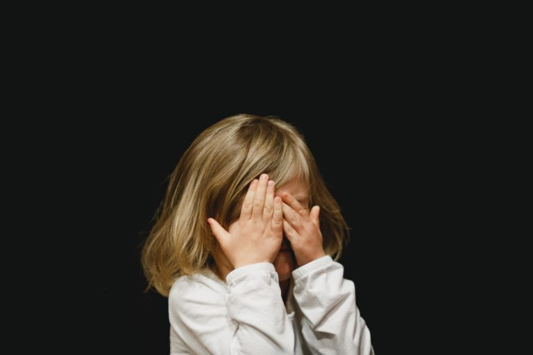 crying little girl - JoAnna Inks Sleep Solutions