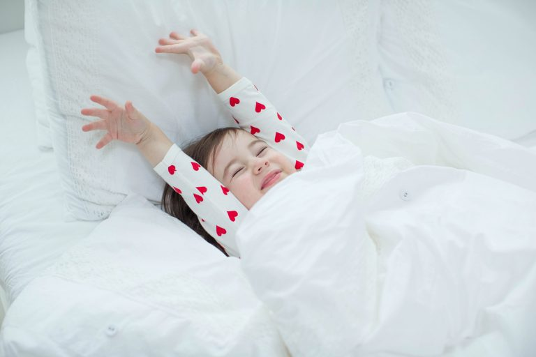child waking up - JoAnna Inks Sleep Solutions