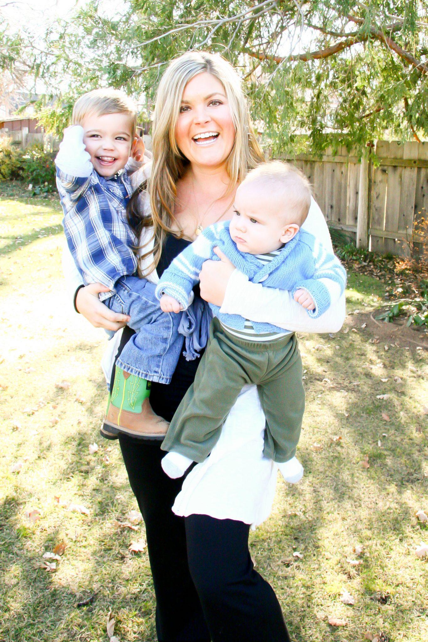 Joanna and her sons - JoAnna Inks Sleep Solutions