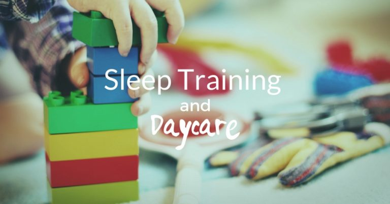 sleep training and daycare graphic - JoAnna Inks Sleep Solutions