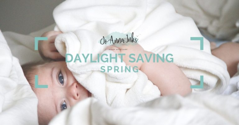 daylight savings graphic - JoAnna Inks Sleep Solutions