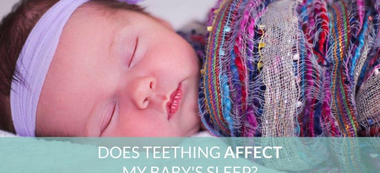 teething baby - JoAnna Inks Sleep Solutions