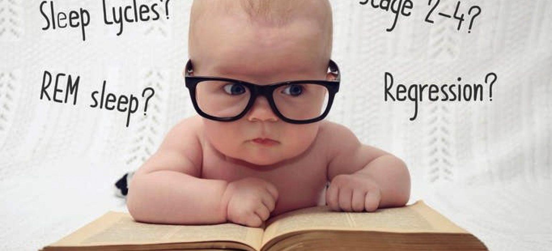 baby wearing glasses - JoAnna Inks Sleep Solutions